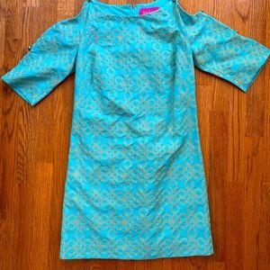 Lilly Pulitzer jubilee brocade dress. Rare.